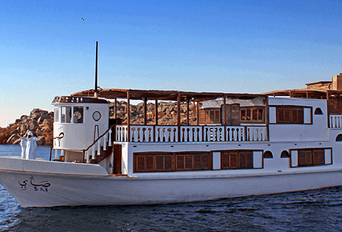 MS SAI Dahabiya Lake Nasser Cruise