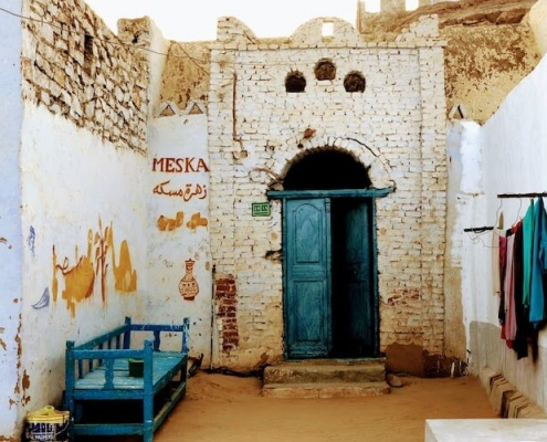 Nubian Village in Aswas
