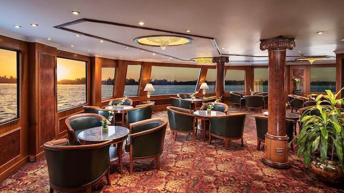 Sonesta St George Cruise - Seating Area