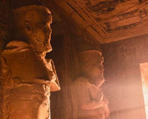 Deluxe Egypt Tour - Inside the Abu Simbel Temple
