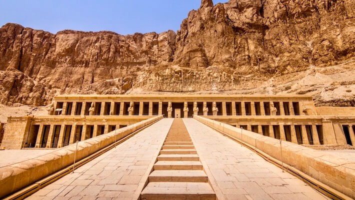 Luxury Cairo and Cruise Package - Temple of Queen Hatshepsut