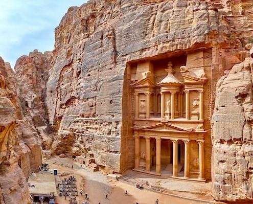 Egypt Jordan and Israel Tours - Al Khazneh, Petra, Jordan