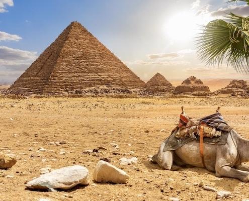 Egypt Jordan Tours from India Pyramid of Menkaure, Egypt