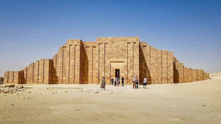Egypt Package Tours from Singapore - The ruins in Saqqara, Cairo - Egypt