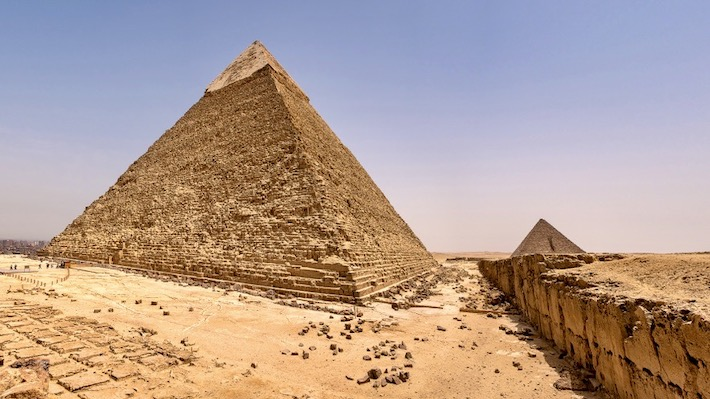 Egypt and Jordan Tours from Canada - Giza Plateau in Cairo