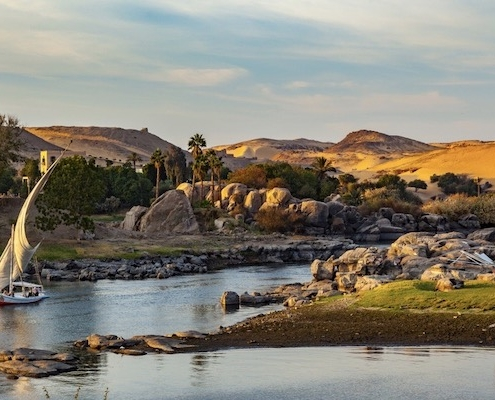 Egypt and Jordan Tours from UK - Nile River, Aswan