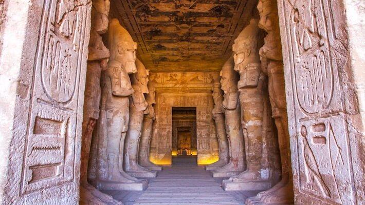Cairo, Abu Simbel, Jordan Tour - Abu Simbel interior