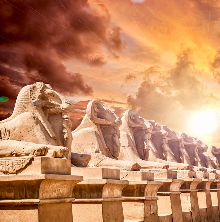 Luxury Egypt Tours - Avenue of Sphinxes, Luxor
