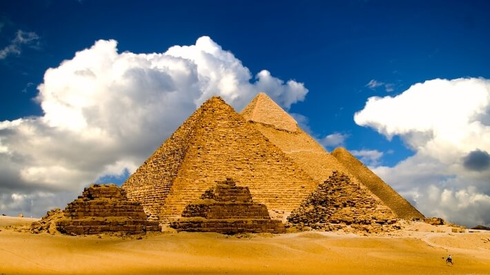 Luxury Egypt Tours - Pyramids of Giza