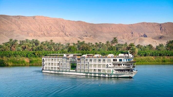 Luxury Nile Tours - Sonesta St George Nile Cruise