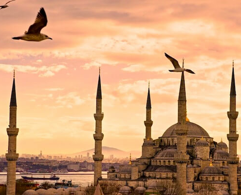 Turkey Egypt and Jordan Tours - The Blue Mosque, Istanbul
